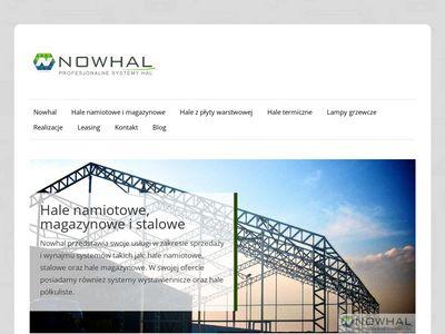 Nowhal - hale magazynowe, Szczecin