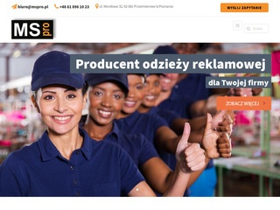 MS PRO Odzież reklamowa