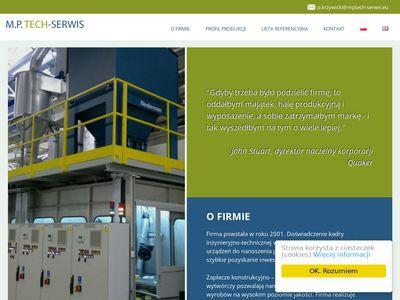 MPTECH-SERWIS specjalne linie technologiczne