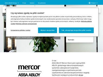 Assa Abloy Mercor Doors - drzwi przeciwpożarowe