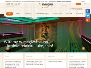 Megiw producent saun