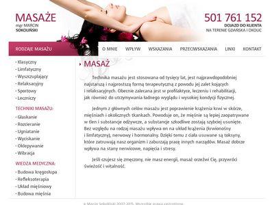 Profesjonalny masaż leczniczy - Trójmiasto - tanio