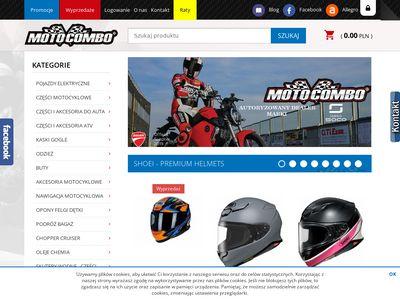 Motocombo buty motocyklowe Szczecin