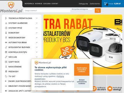 Montersi.pl - kamery przemysłowe