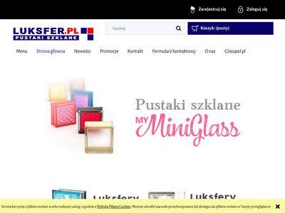 Luksfer.pl pustaki szklane szkło sklep internetowy