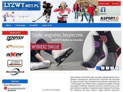 Sklep lyzwy.net.pl