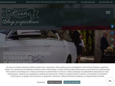 Lethewarszawa.pl - zakład pogrzebowy