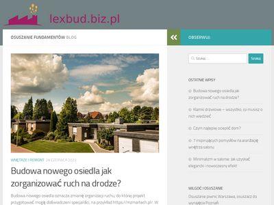 Lexbud.biz.pl osuszanie