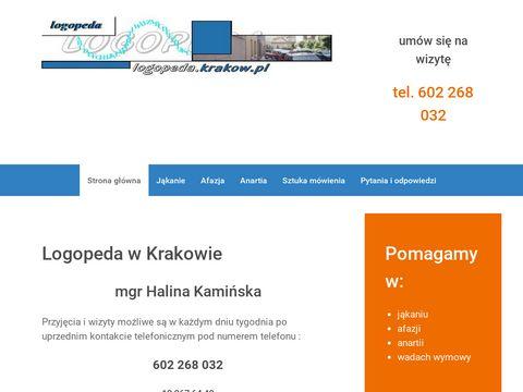 Logopedia w Krakowie