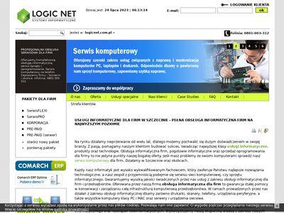 Logicnet.com.pl - obsługa informatyczna firm