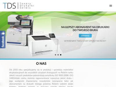 TDS - tusze do drukarek sklep