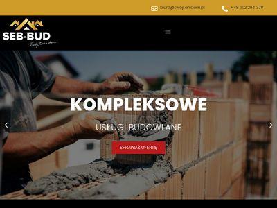 Twojtanidom.pl firma budowlana SEB BUD
