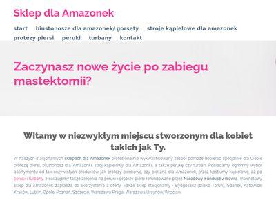 Sklepamazonka.pl protezy piersiowe po mastektomii