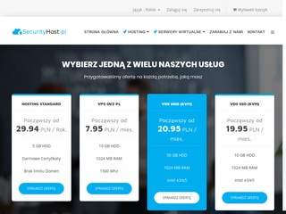 Securityhost.pl hosting www