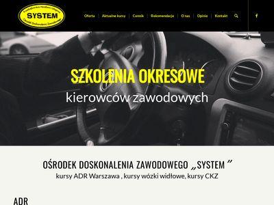 P.H.U System Szkolenia