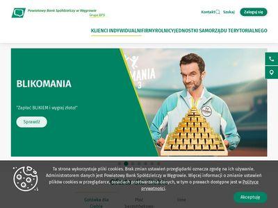 PBS Węgrów karty kredytowe