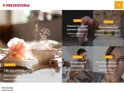 Prezenteria.pl - pomysły na prezenty