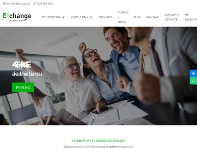 4change.pl szkolenia sprzedażowe