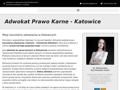 Katowice.karh.pl adwokat prawo karne