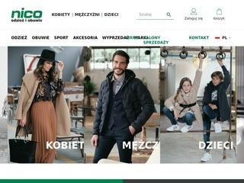 Nico.com.pl markowa odzież i obuwie