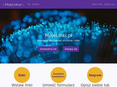Mojelinki.pl wizytówka na instagram