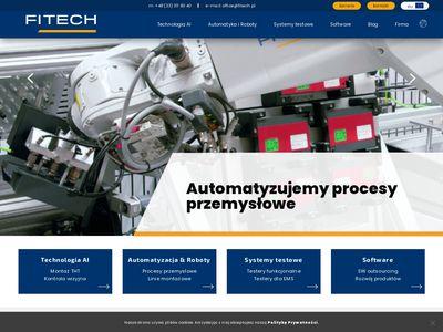 Robotyzacja linii produkcyjnych - fitech.pl