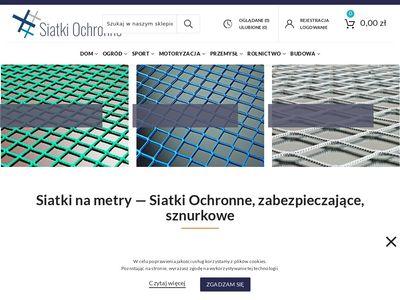 Siatki-ochronne.com.pl zabezpieczające