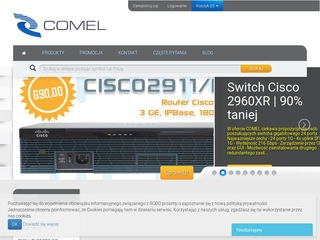 Sklep.comel-it.com routery Cisco