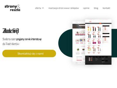 Stronyireszta.pl sklepy online i witryny www