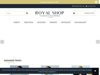Royal-shop.pl markowa odzież damska i męska