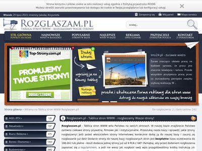 Rozglaszam.pl - baza stron