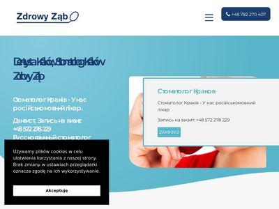 Zdrowy-zab.pl gabinet stomatologiczny