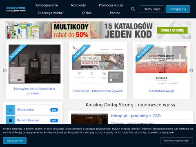 Dodaj-strone.com.pl reklama strony