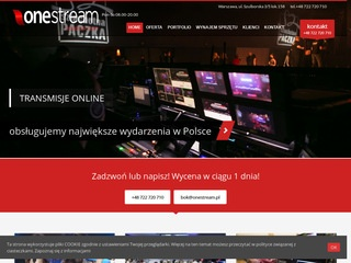 Onestream.pl na Facebooka