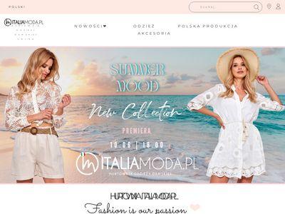 Italiamoda.pl odzież z Włoch